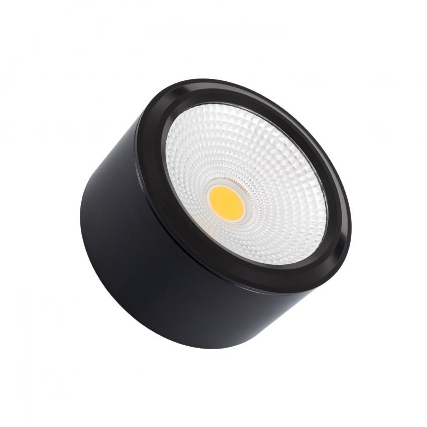 Plafón LED 7W Circular Style COB Black