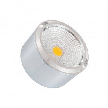 Plafón LED Style COB 7W Prata