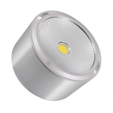 Plafón LED Style COB 12W Plata