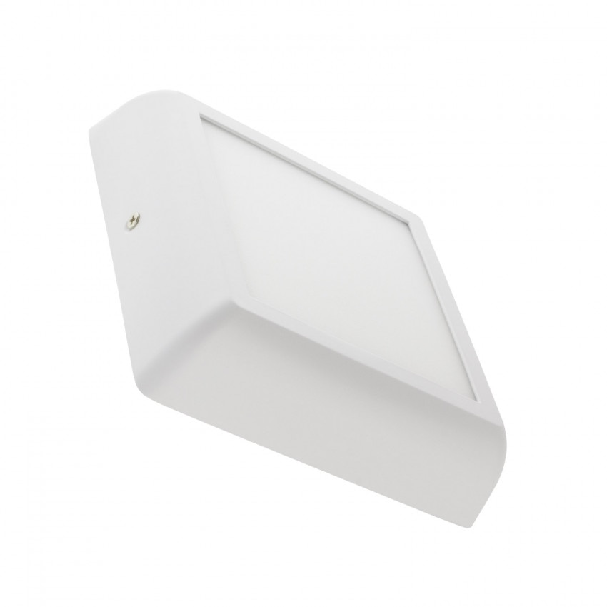 Plafón LED 12W Cuadrado Design White