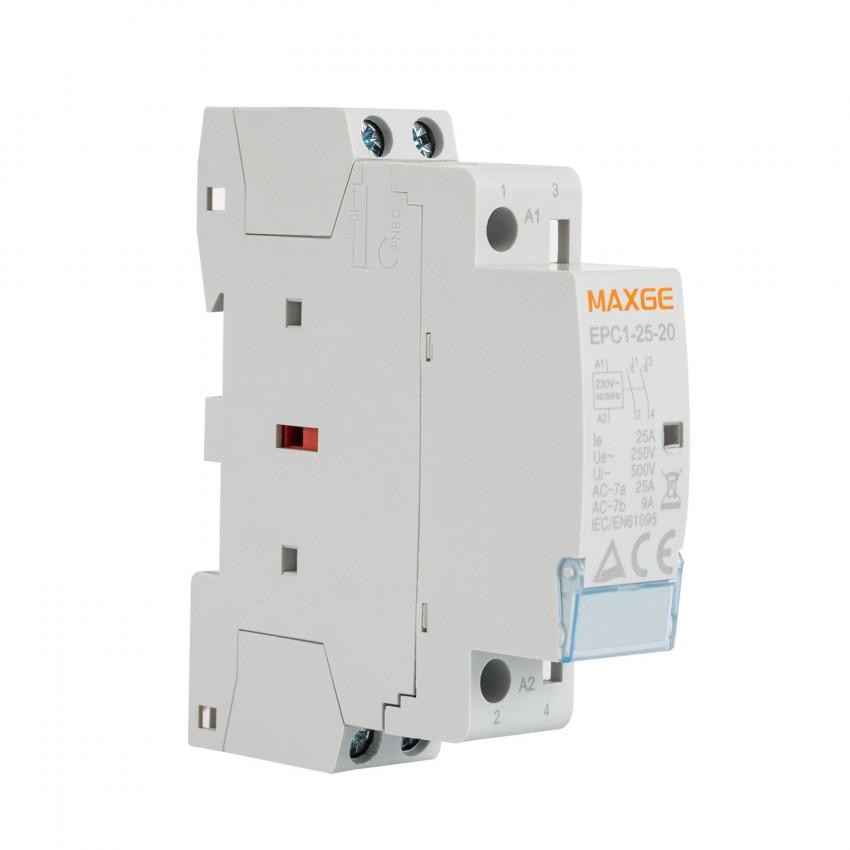 Contator MAXGE 2P-25A-230V AC-2NO