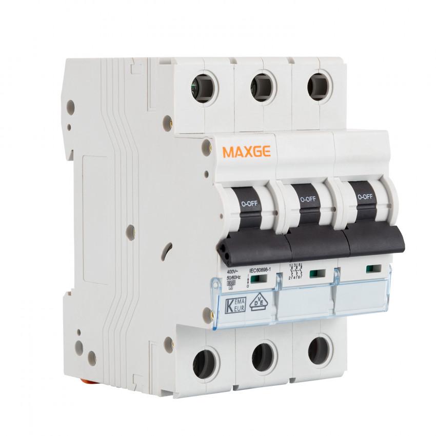 Interruptor Automático Residencial MAXGE 3P-6kA 10-63A