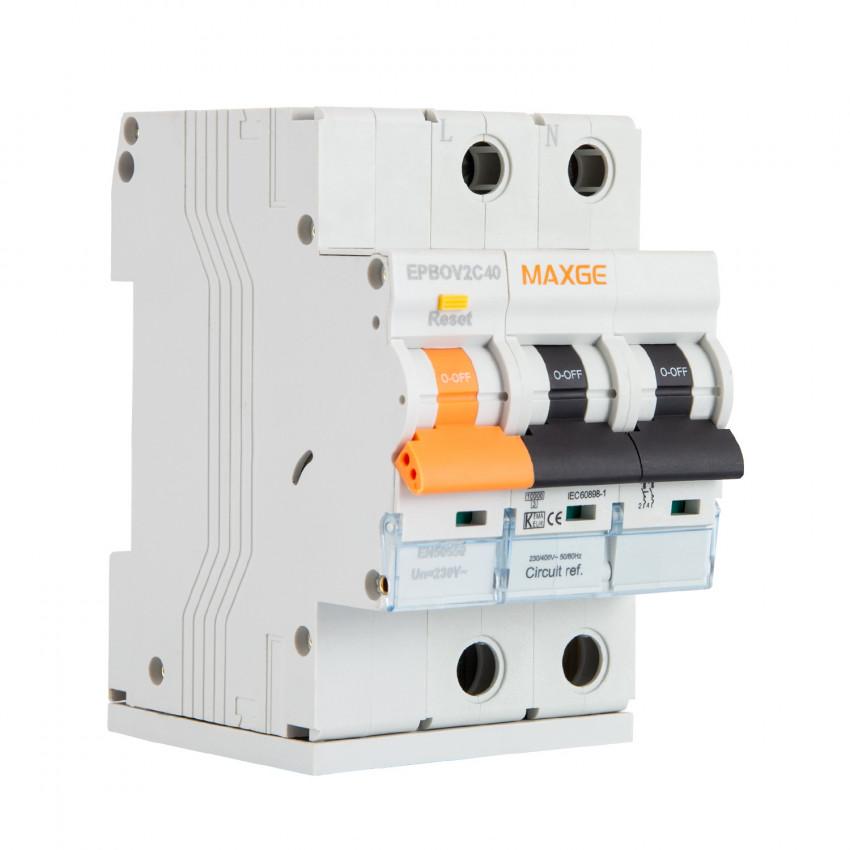 Protector Combinado Sobretensiones Permanentes MAXGE 2P