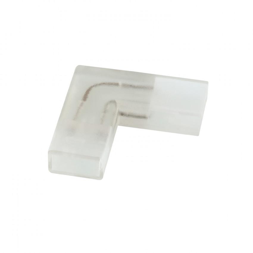 Conector Tipo L Fita LED SMD5050 Monocôr 220V AC