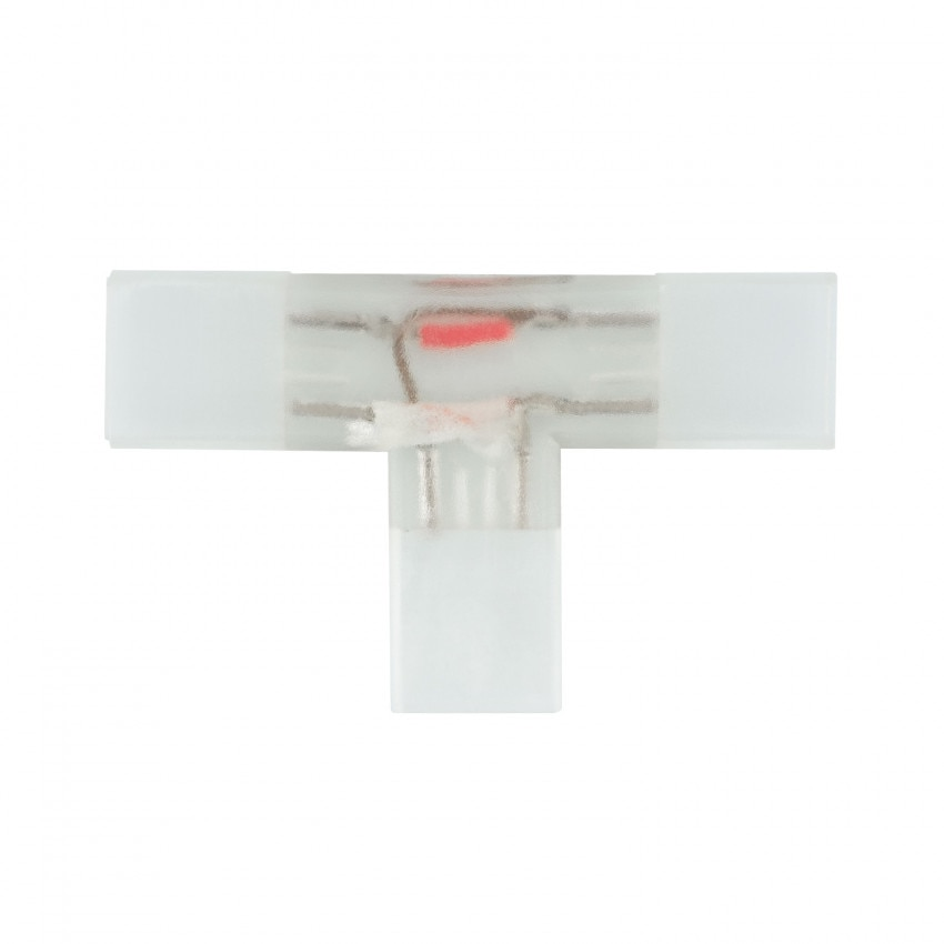 Conector Tipo T Tira LED Monocolor 220V AC