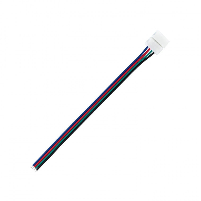 Cable Conector Rápido Tira LED 12/24V RGB 10mm 4 PIN