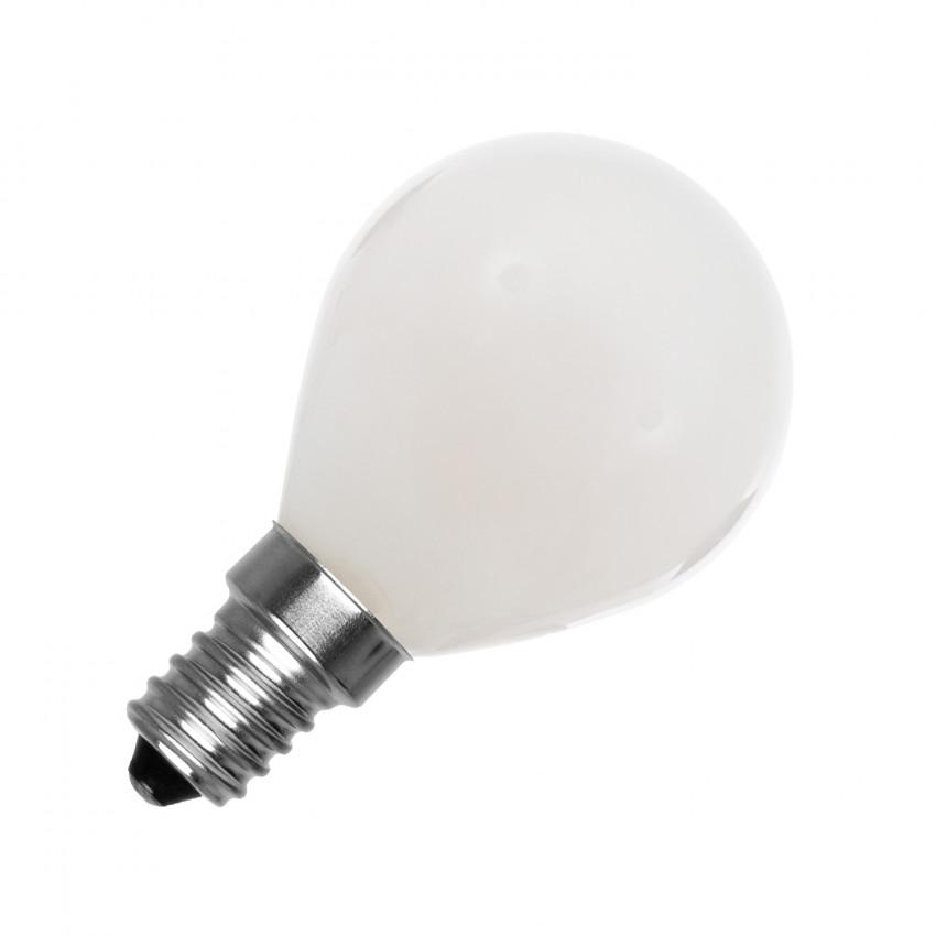Lâmpada LED E14 G45 Esférica Glass 4W