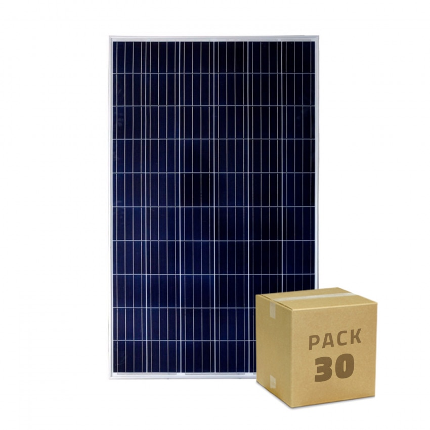 Pack Painel Solar FotoVoltaico Policristalino 320W BYD Classe A (30 un)