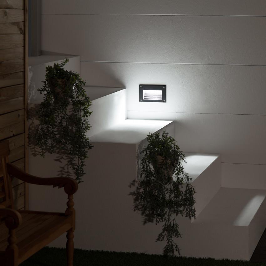 Baliza LED Mystic Acabado Negro 3W