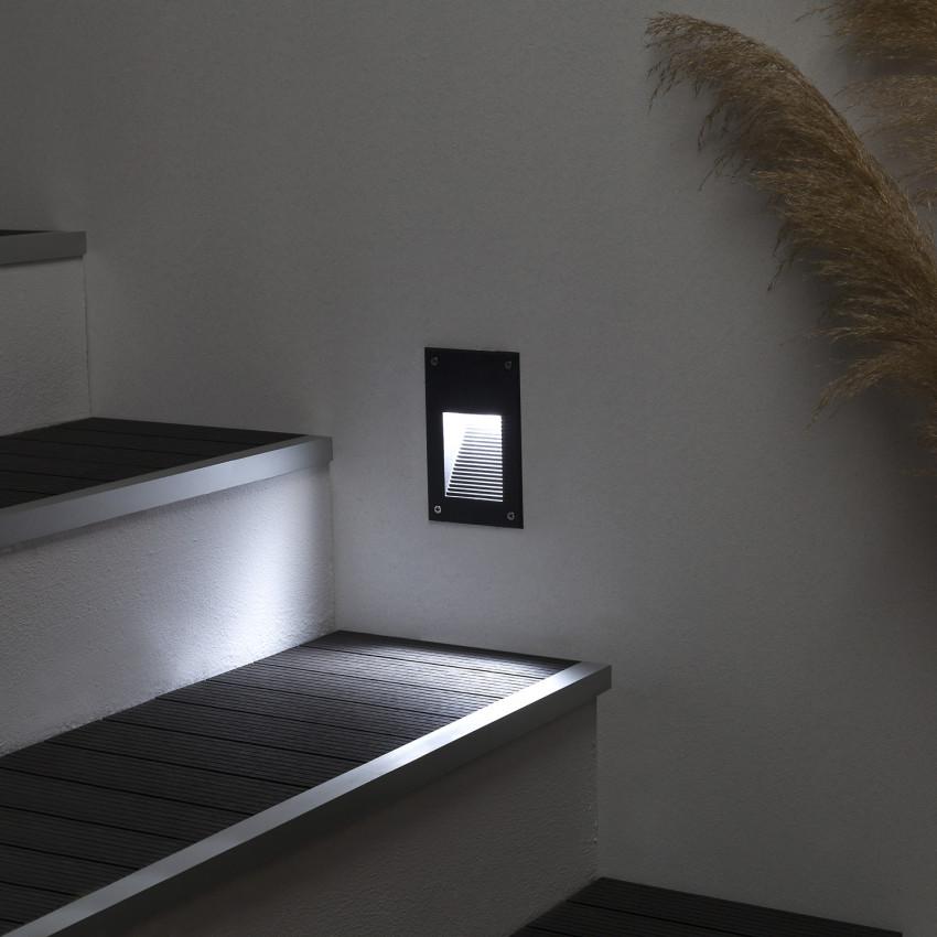 Baliza LED Cooper Acabado Negro 3W