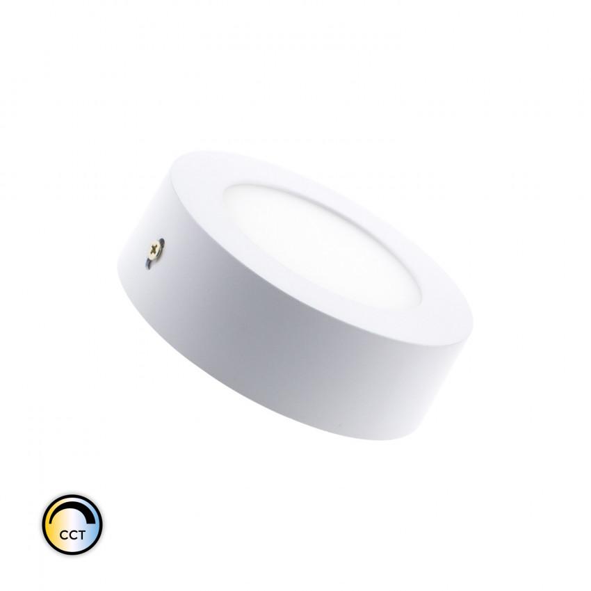 Plafón LED CCT Seleccionável Circular 6W Regulável