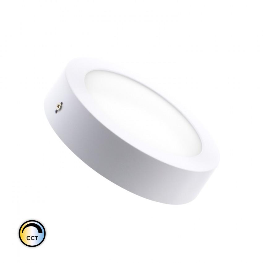 Plafón LED CCT Seleccionável Circular 12W Regulável