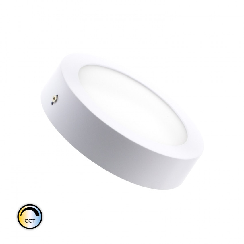 Plafón LED 12W CCT Seleccionable Circular Regulable