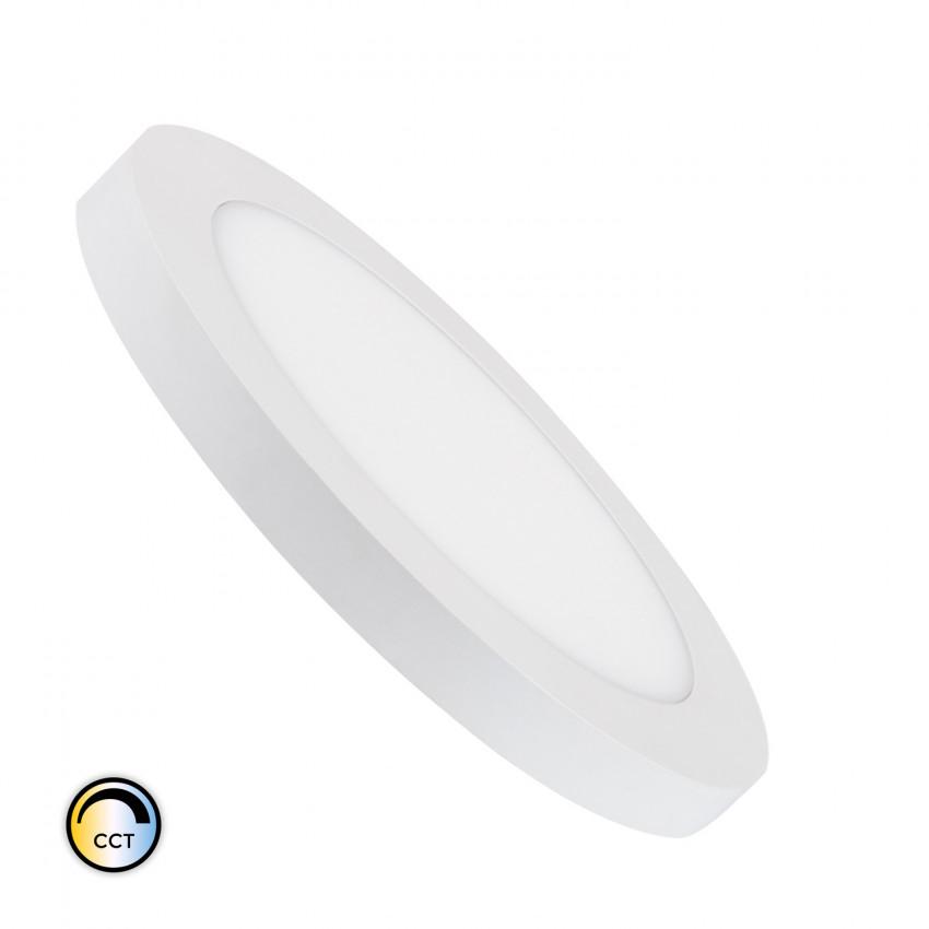 Placa LED 22W CCT Seleccionable Circular Corte Ajustable Ø 60-160 mm