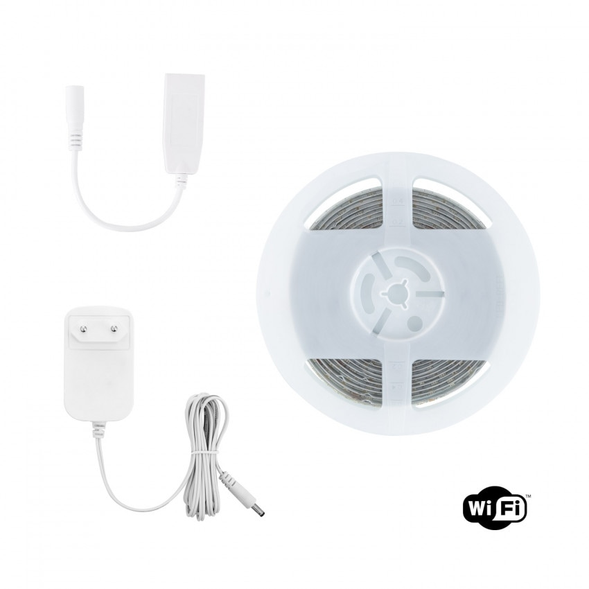 Kit Fita LED 12V 72LED/m 5m Smart Wifi RGBWW IP65
