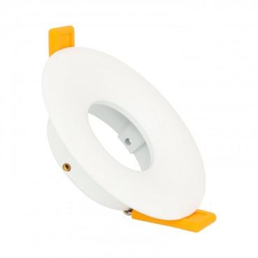Aro Downlight Circular Design Blanco para Bombilla LED GU10 / GU5.3