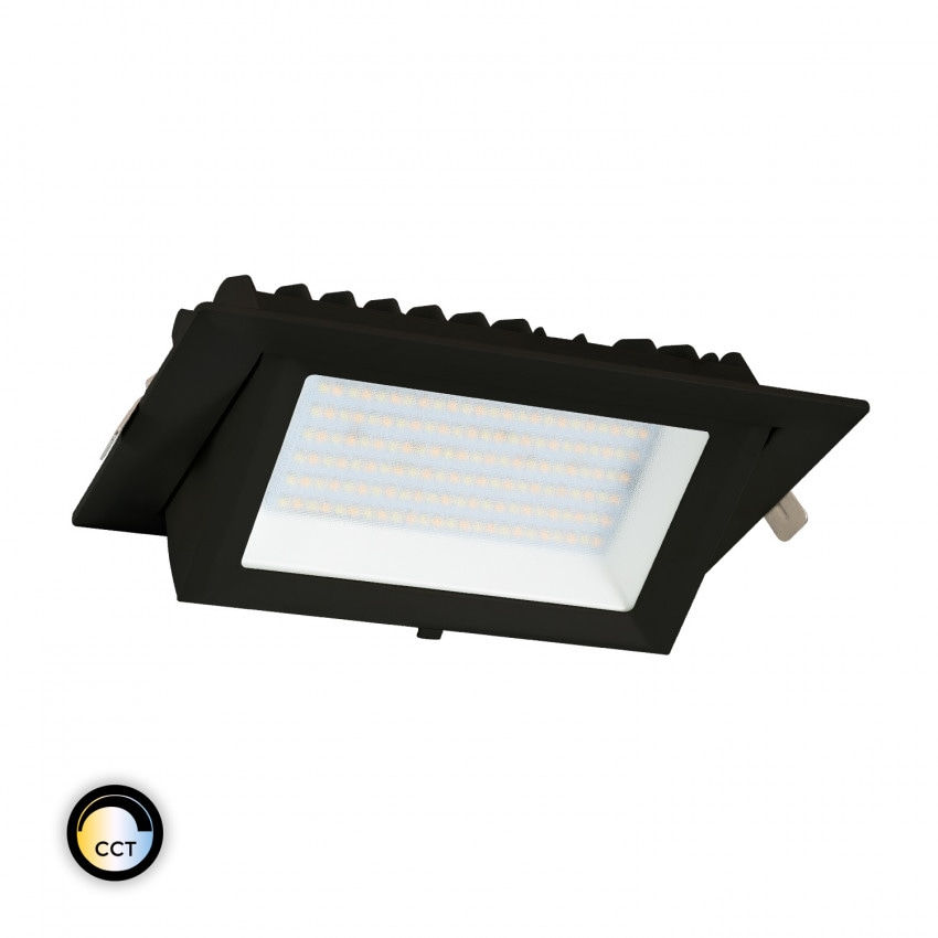 Foco Proyector Direccionable Rectangular LED 48W Negro SAMSUNG 130 lm/W CCT LIFUD
