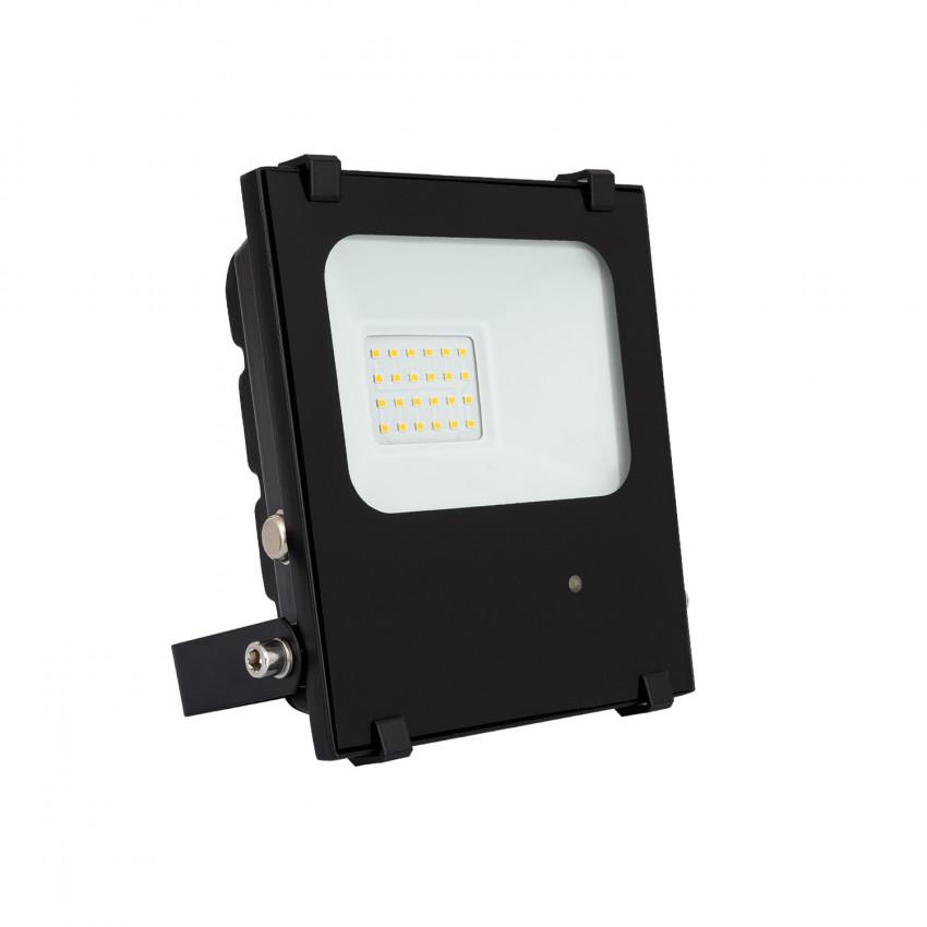 Foco Proyector LED 20W 140 lm/W HE PRO Regulable con Detector de Movimiento Radar