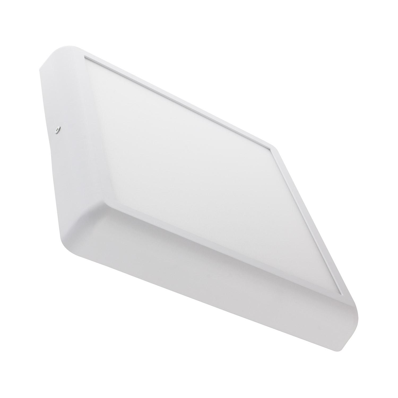 Plafón LED Cuadrado White Design 24W