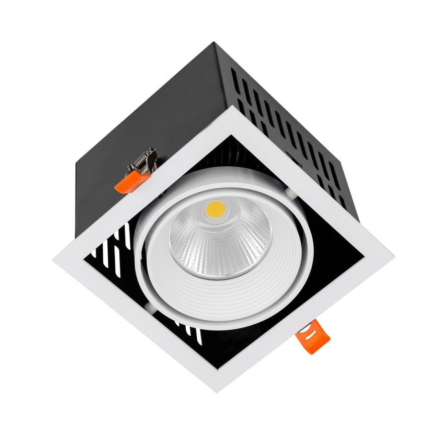 Foco Downlight LED SAMSUNG-COB Direccionável Grill 30W LIFUD Corte 140x140 mm