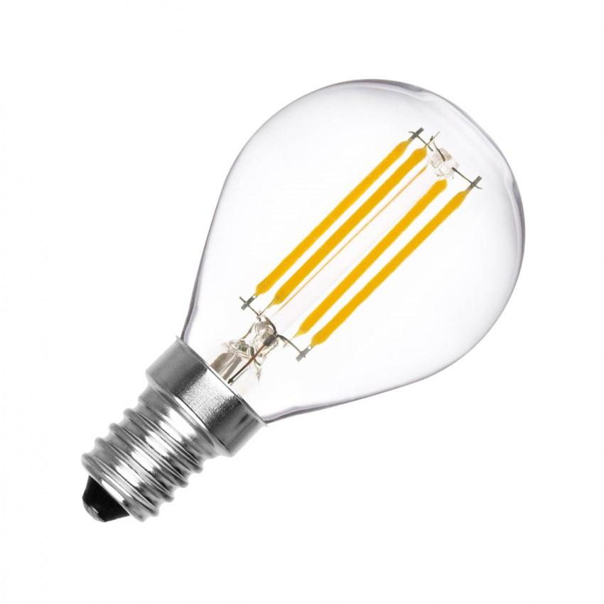 Lâmpada LED E14 Filamento G45 4W