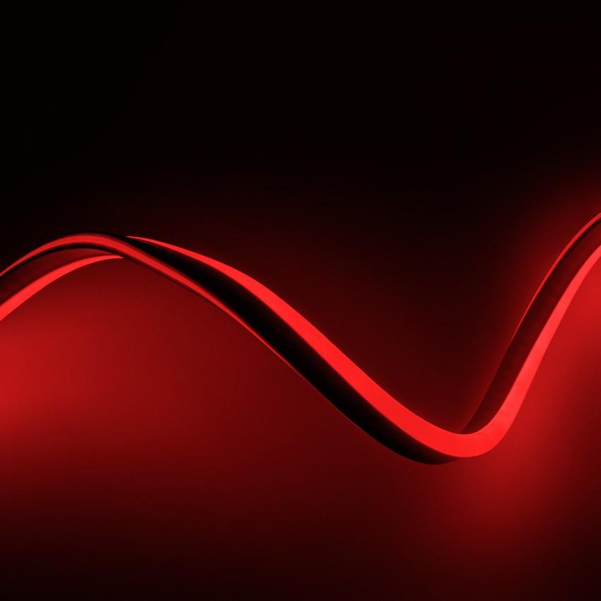 Tira Neón LED Regulable 220V AC 120 LED/m Rojo a Medida
