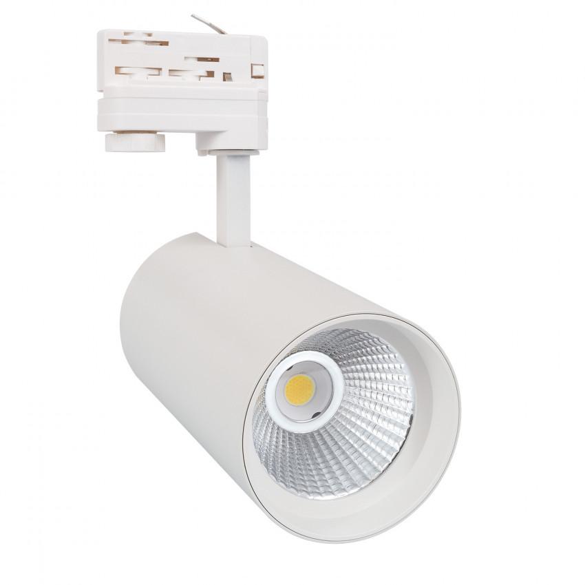 Foco LED New d'Angelo Blanco 30W (CRI 90) LIFUD para Carril Trifásico