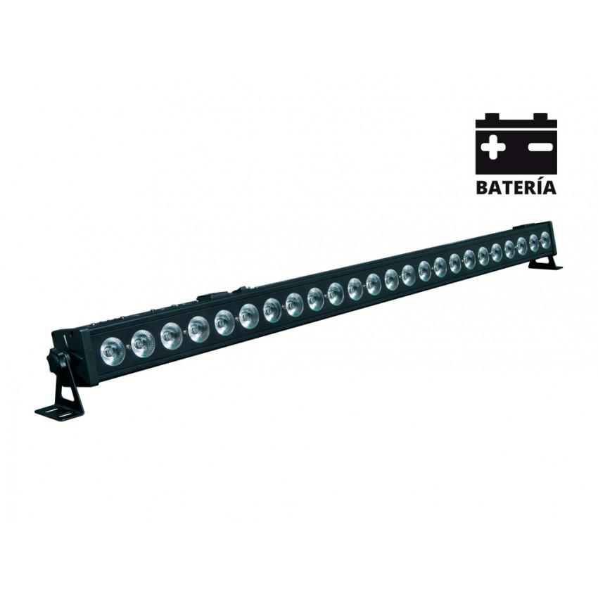 BarraLineal LED Equipson MBAR 4 72 BAT RGB DMX 72W com Bateria