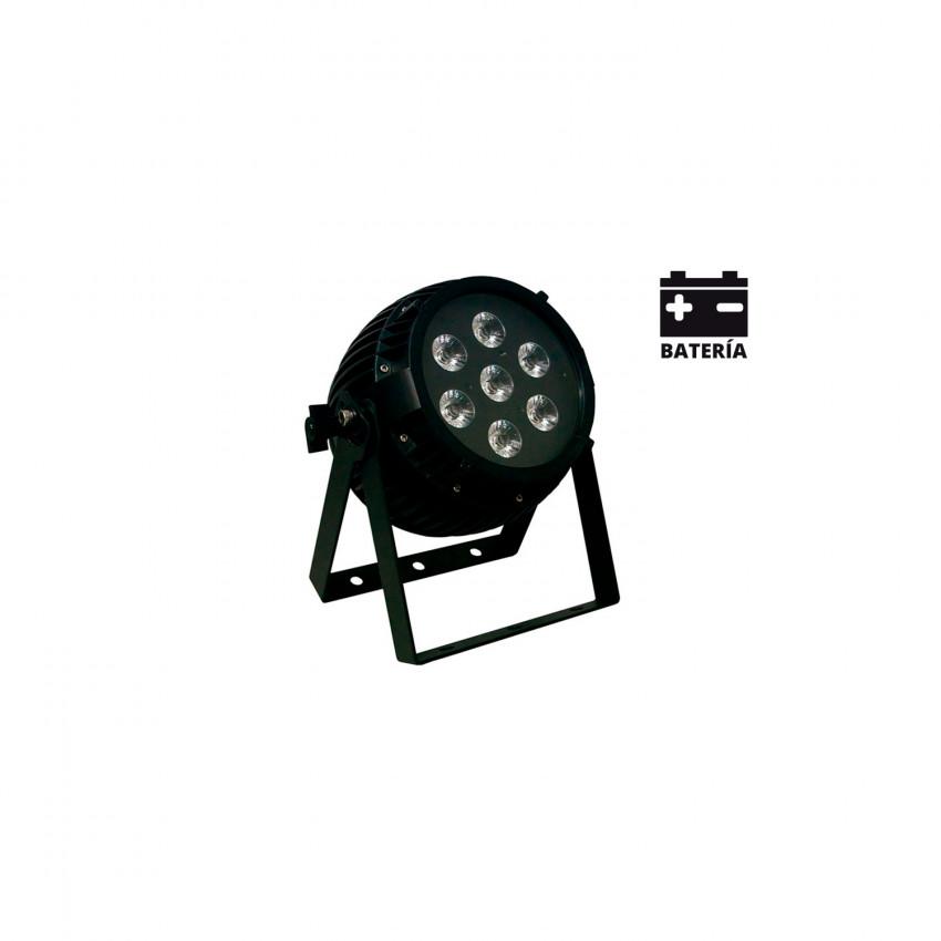 Foco Projector LED 90W Equipson SUPERBAT LED WI 712 IP65 DMX RGBWA+UV com Bateria 28MAR024