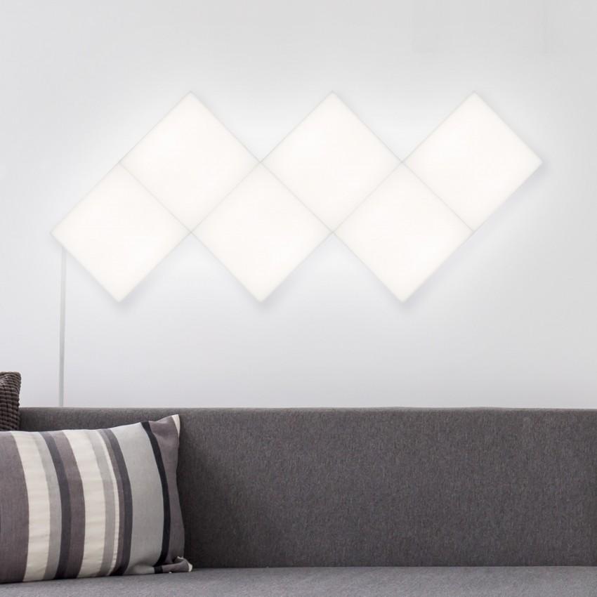 Painel LED Quadrado 30x30cm 9.5W 800lm Extensão