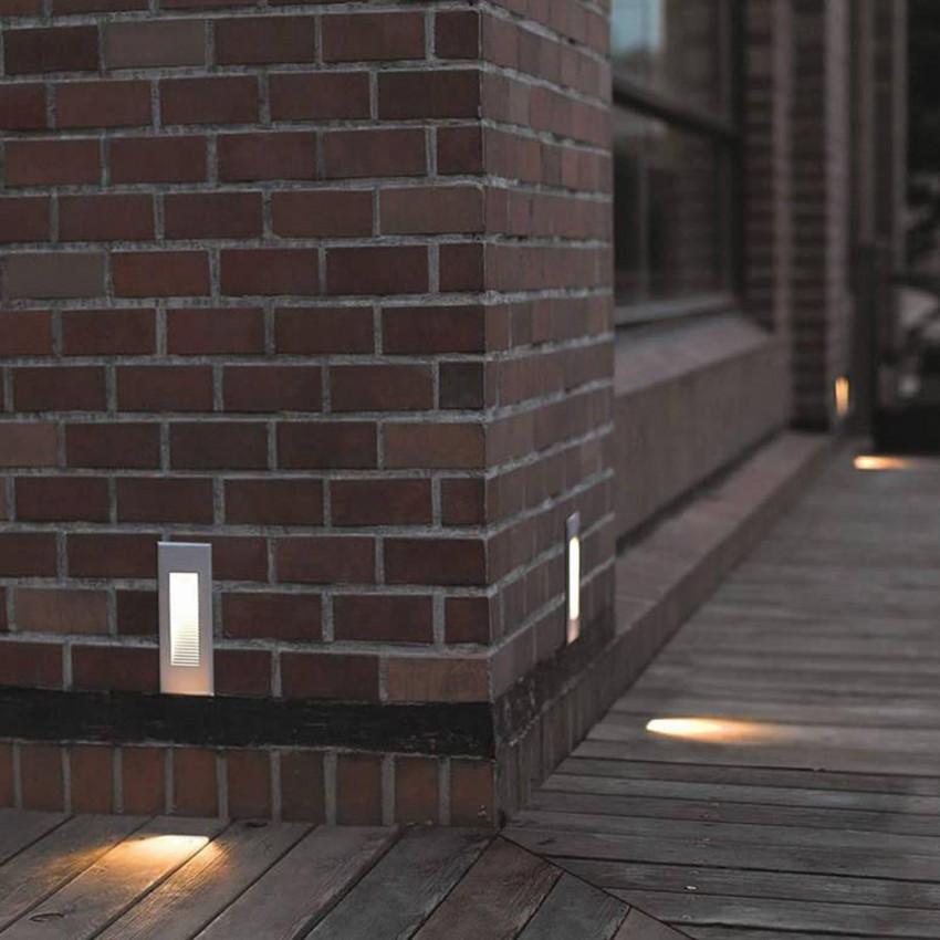 Baliza LED Empotrable en Pared Micenas Effect 2.2W IP65 LEDS-C4 05-9758-34-37