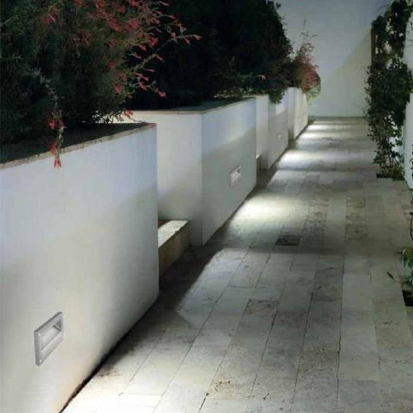 Baliza LED Encastrável na Parede Micenas 5.5W IP65 LEDS-C4 Cinza Urbano 05-9832-Z5-CM