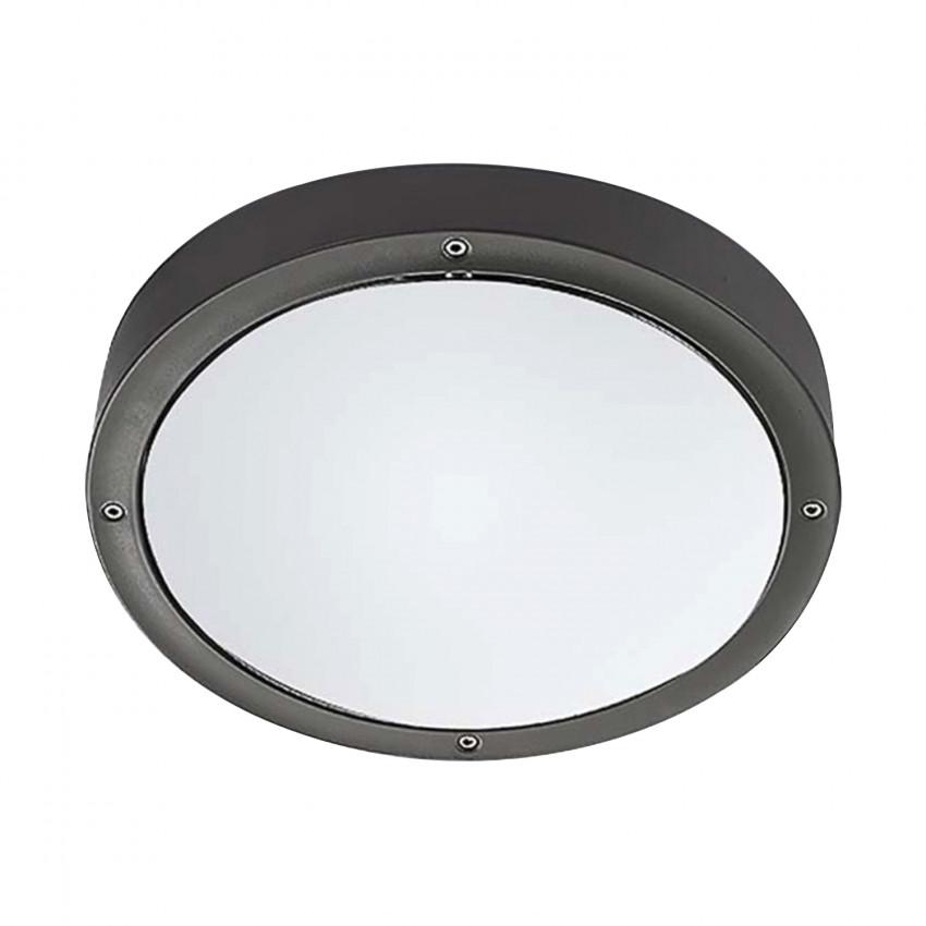 Plafón Basic LED Aluminium 14.5W IP65 LEDS-C4 Gris Urbano 15-9835-Z5-CL