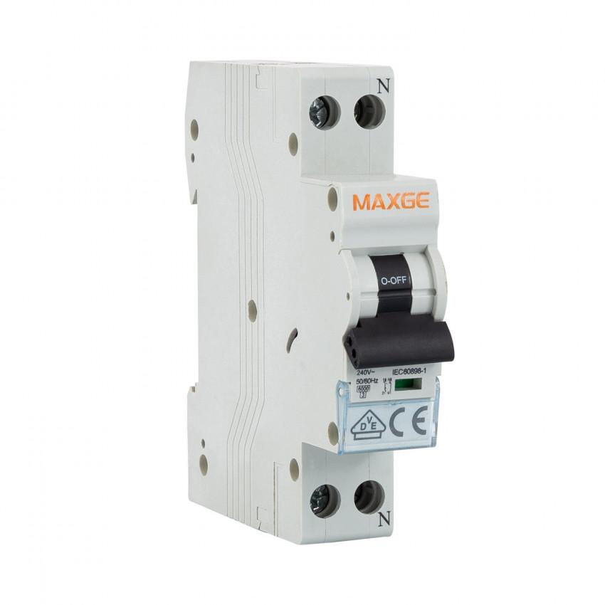 Interruptor Automático Residencial MAXGE 1P+N-6kA 6-40A 1 Módulo DPN