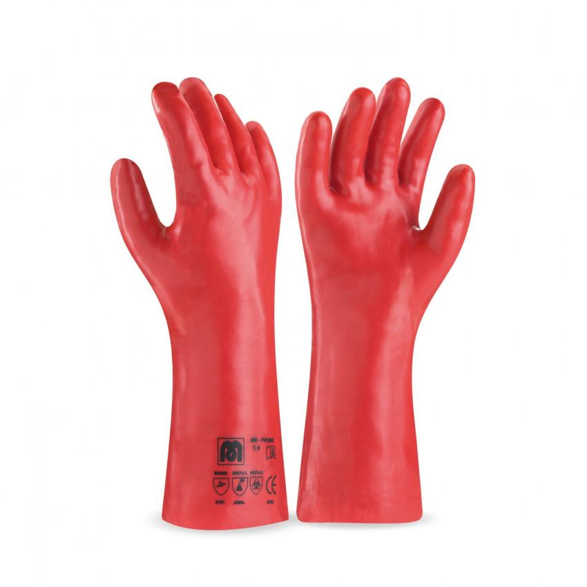 Luvas de Protecção PVC compridas