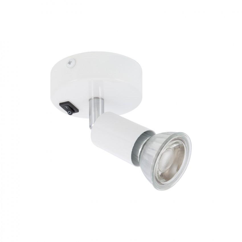 Aplique Orientable Oasis 1 Foco Blanco con Interruptor