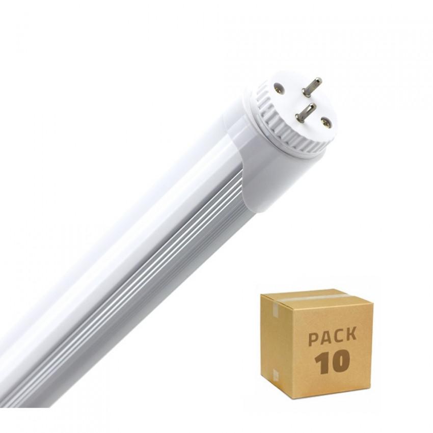 Caja de 10 Tubo LED T8 600mm Conexión un Lateral 9W 120lm/W Blanco Neutro