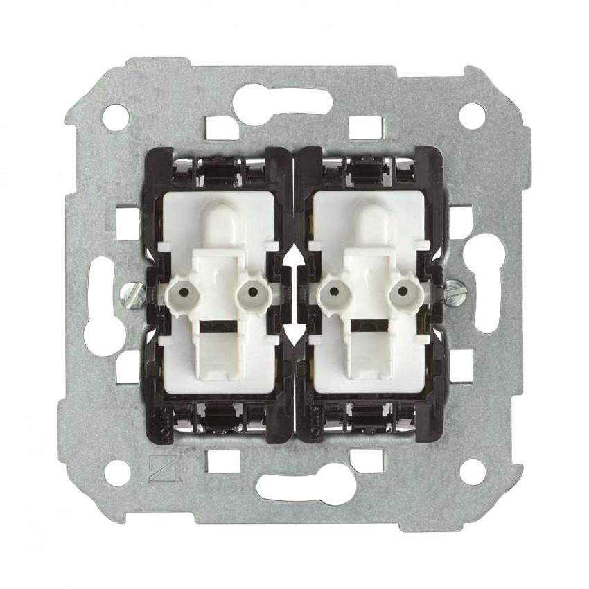 Mecanismo Interruptor Doble Conmutado Cruzamiento SIMON 82 7502251