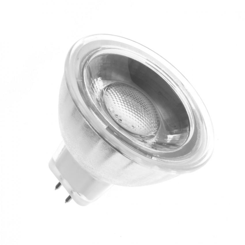 Bombilla LED GU5.3 MR16 12V COB Cristal 45º 5W