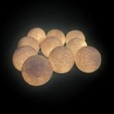 Guirnalda LED 10 Bolas
