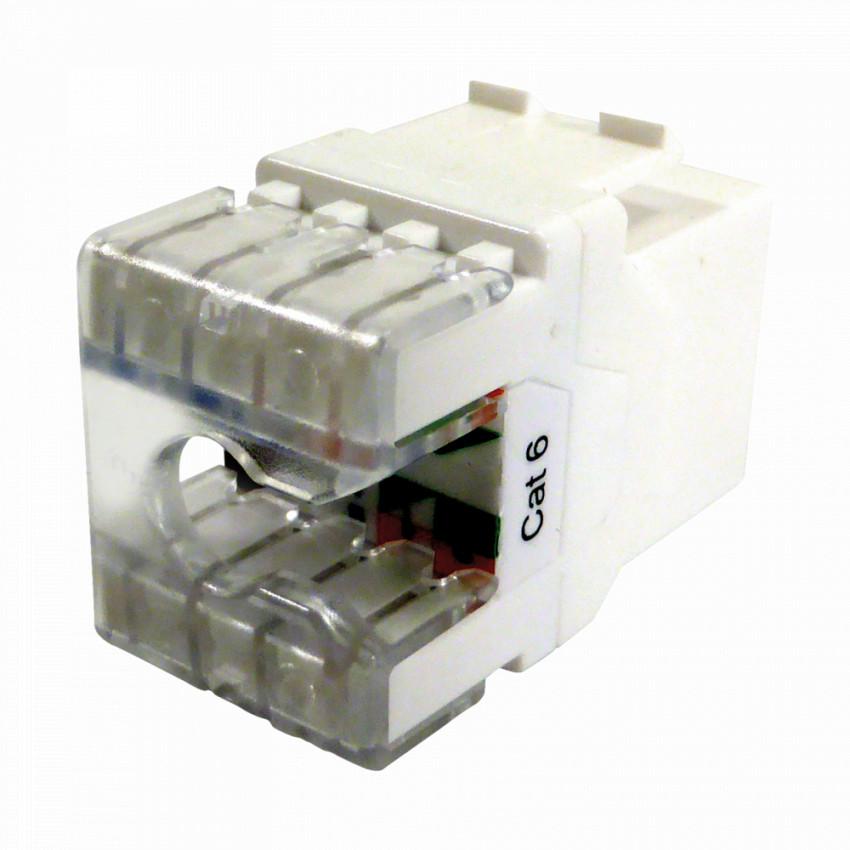 Conector RJ45 Hembra TELEVES UTP Cat-6
