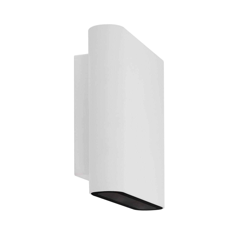 Blanco Doble Aplique Led Vesta Iluminación Cara 12w TlFc1KJ