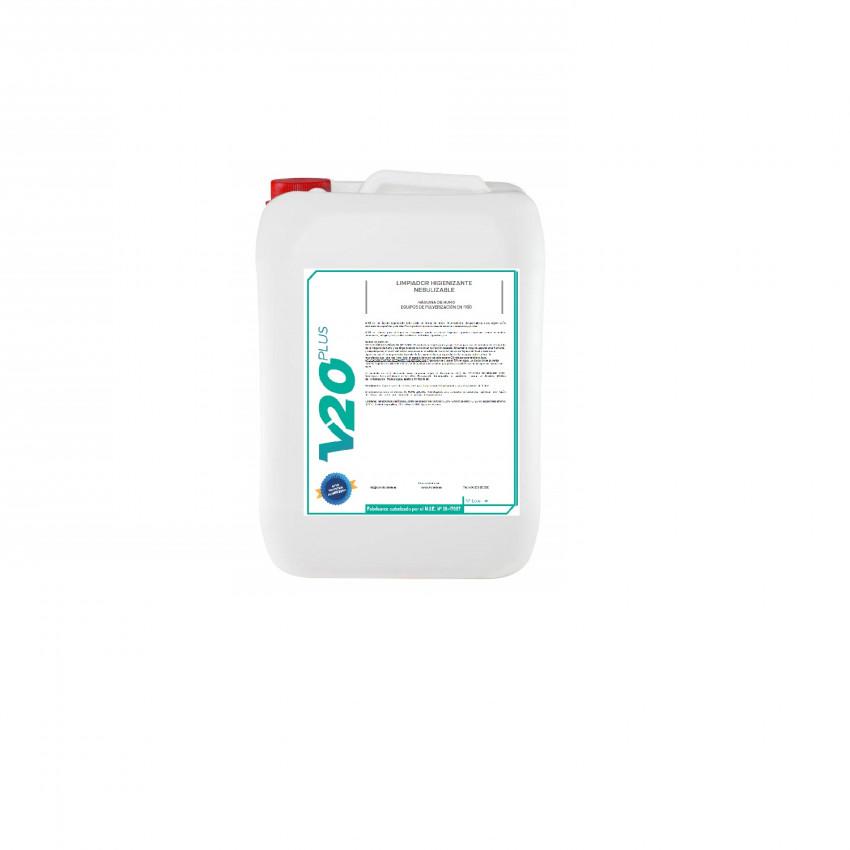 Líquido Higienizante LPH BACT para Máquina de Fumaça