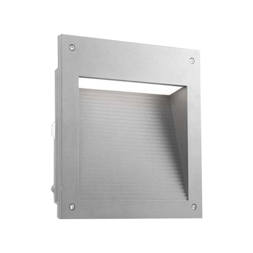 Baliza Encastrável  LED Micenas Square 20W IP65 Cinza LEDS-C4 05-9885-34-CL