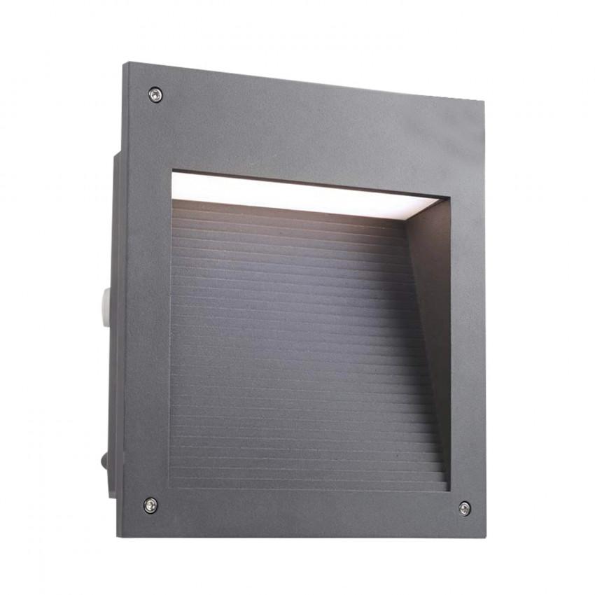 Baliza Encastrável LED Micenas Square 20W IP65 Cinza Urbano LEDS-C4 05-9885-Z5-CL