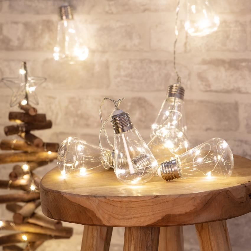 Guirnalda de Bombillas LED Edison 2m