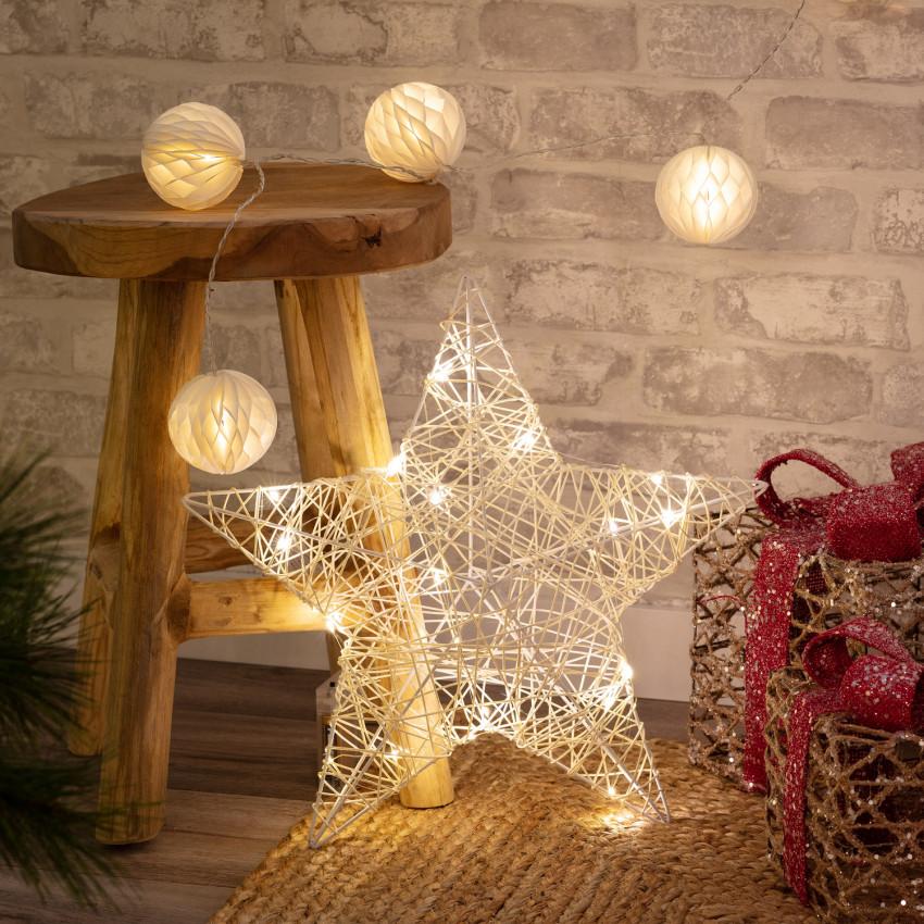 Estrella con Guirnalda de Luces LED Irawo