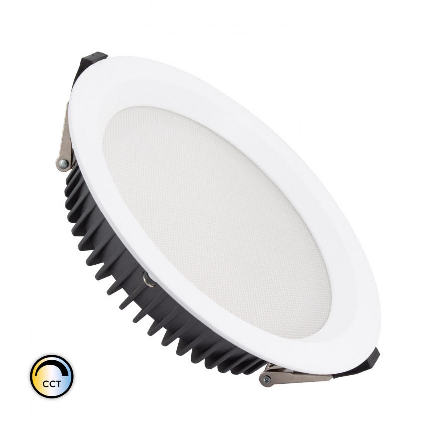 Downlight LED 40W SAMSUNG New Aero Slim CCT Seleccionable 130 lm/W (UGR17) LIFUD Corte Ø 200 mm