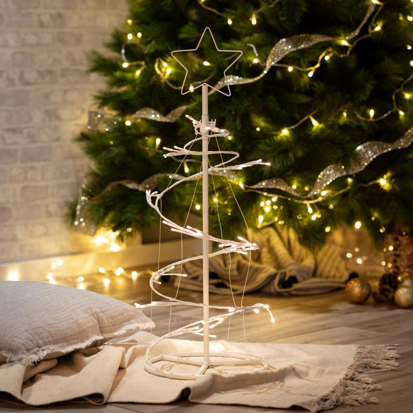 Arvore de Natal de Metal LED
