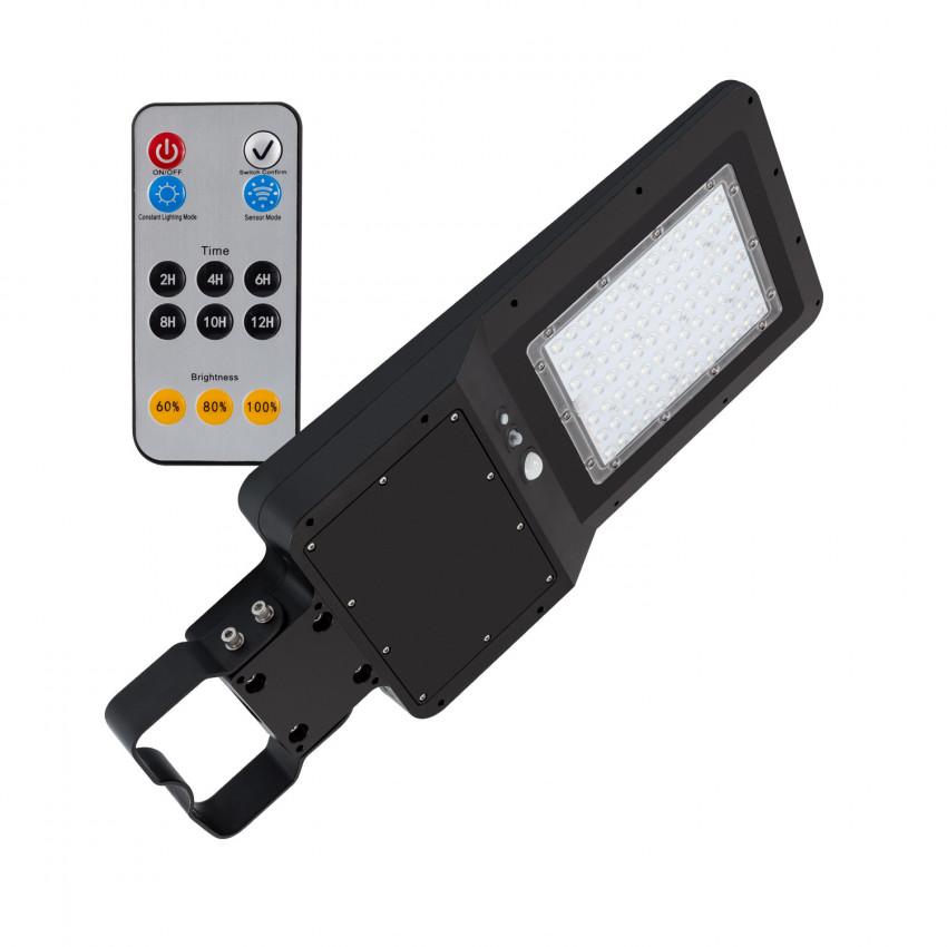Luminária LED 55W Solar com Sensor de Movimento e Crepuscular